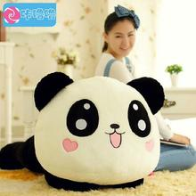45cm Giant Panda Pillow Cute Plush Toys Stuffed Animal Toy Doll Pillow Plush Bolster Pillow Doll Best Gifts for Kids and Girls(China)