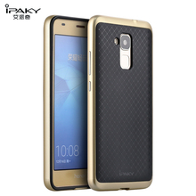 iPaky Cover for Huawei Honor 5C Case Honor 7 Lite Cover Soft TPU Silicon + Plating PC Frame Cover Shockproof Protective Shield