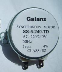 Microwave oven parts rotary plate Synchronous motor SS-5-240-TD 4W 5RPM<br><br>Aliexpress