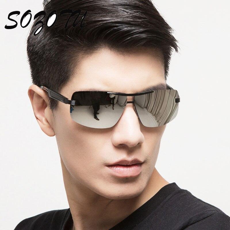 Fashion Aviator Polarized Sunglasses Men Driver Sun Glasses Brand Designer For Male Driving Fishing Anti-Reflective Oculos YQ163<br><br>Aliexpress