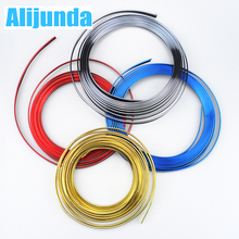 5 m Car Grille Inner Outer Profiles Trim Decorative Ribbon Line for SEAT Ibiza Leon Toledo Arosa Alhambra Exeo FR Supercopa Mii