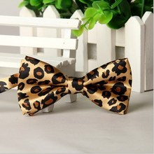 2 Pieces/Package Cheap Kids Child Neck Bow Ties For Boys Girls Striped Children Neckwear Bowtie Red Leopard Pajaritas Corbatas