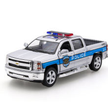 2017 Hot sell 1:32 Pickup Truck Diecast Alloy Metal Luxury Car Model Collection Model Pull Back Toys Car Gift For Boy