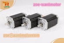 High Quality! Ship from Germany and free!3pcs Nema 34 Wantai Stepper Motor 85BYGH450C-060 1600oz-in 151mm 6A ROHS CE ISO
