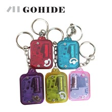 GUH Gohide Brand New Nice Music Song With Mini Candy Color Option Acrylic Square Key Chain Music Box Birthday Gift