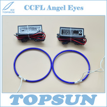 Super Bright Blue CCFL Angel Eyes and Driver for projector lens, cold cathode fluorescent lamp as DRL(China)