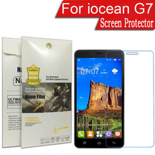 "5x Ultra Nano Soft Explosion-proof For iocean G7 6.44"" Best Service Screen Protector Guard Cover Protective Film(China)"