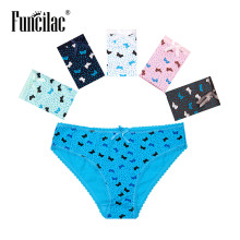 Buy FUNCILAC Woman Underwear Seamless Panties Cotton Sexy Panty Plus Size Womens Briefs Culotte Femme Ladies Underpants 5pcs/Lot