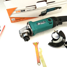 400W High Power Angle Grinder 11000 RPM Electric Rotary Tools Wood Metal Stone Plastic Cutting Polishing Green Cover(China)