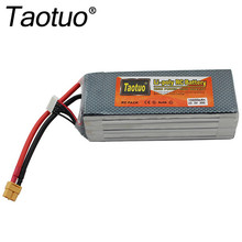 Taotuo Power Lithium Polymer Lipo Battery 22.2v 10000mah 30C 6S XT60 Plug For RC Quadcopter FPV Multicopter Model Parts Bateria