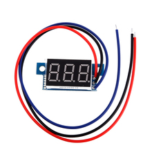 Direct Current DC0-200V 0.36Inch Red LED Digital Display Voltmeter Panel