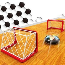 New Children Sports Toy Funny Air Power Soccer Football Game Float Like Magic Soccer Goal Post Net Outdoor Indoor Playing Toy(China)