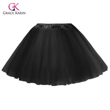 Grace Karin Baby Girl Petticoats Tutu Skirts Fluffy Children Clothes Princess Ballet Dance Wear Party Kids Tulle Petticoat 2017