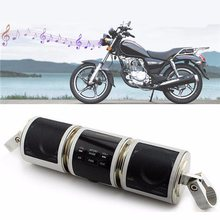 Motorcycle Bluetooth Audio Radio Stereo Speakers Waterproof Music Player Mp3 Anti-theft Adjustable Bracket(China)