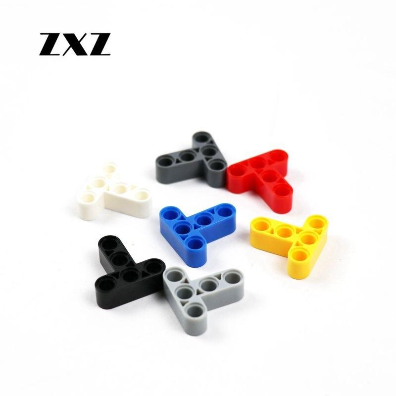 Lego 6629 x2 Technic Liftarm 1 x 9 Bent 6-4 Thick Dark Bluish Grey