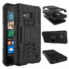Phone Case For Microsoft Nokia Lumia 550 Back Cover TPU & PC Dual Armor cases Holder Hard Silicone Shock Proof Anti-Skid , XW
