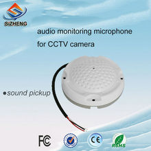 SIZHENG COTT-QD40 High sensitive -38dB listening device sound monitor CCTV audio microphone for security camera DVR