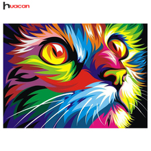 DIY Diamond Embroidery Cat Europe Home Decoration 5D Resin Diamond Painting Mosaic Kits Needlework Crafts Gifts Y214