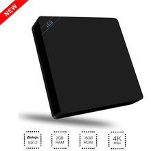 I68 Android Tv Box Amlogic S912 Octa Core 2GB/16GB Smart Tv Box I68 II Android 6.0 2.4G/5.0G Dual Wifi HDMI 2.0 4K Media Player(China)