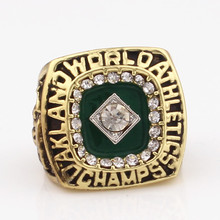 Manufacturer High Quality 1989 Auckland Sports World Champion Ring Replica / Men's Ring Low Cost Fast Delivery