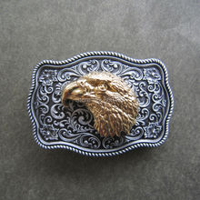 Original Belt Buckle Animal Belt Buckle Bull Deer Eagle Western Wildlife Belt Buckle Free Shipping In Stock
