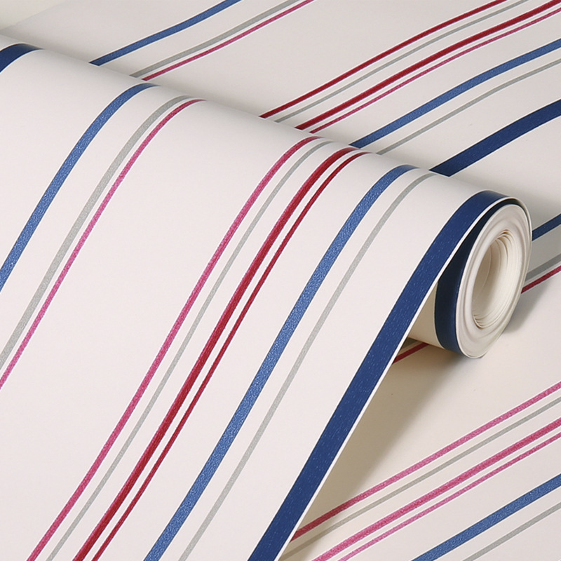 beibehang wallpaper for walls 3 d modern striped wall paper papel de parede tapete bedroom contact-paper papel parede flooring<br>