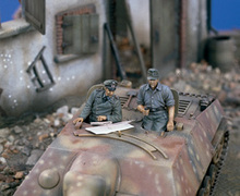 1:35 German tanks command groups(China)