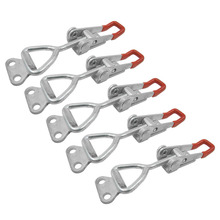 CNIM Hot 4001 100Kg 220Lbs Holding Capacity Latch Door Button Toggle Clamp 5pcs(China)