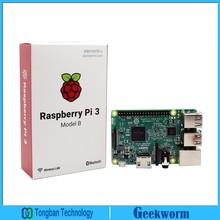 Element 14 Raspberry Pi 3 Model B  ARM Cortex-A53 CPU1.2GHz 64-Bit Quad-Core Board w/ 1GB RAM