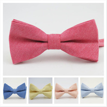 Fashion Mens Bow Tie Oxford Fabric Butterfly Cravat Solid Color Adults Casual Business Bowtie Formal Marriage Bow Ties for Women