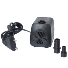 Aquarium Fountain Fish Tank 800L/h 15W Adjustable Submersible Water Pump 220~240V EU UK SAA Plug(China)
