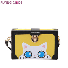FLYING BIRDS famous brand bag for women leather handbags bolsas high quality women's messenger bags designer tote 2018 new a3476(China)