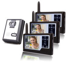 3.5 inch TFT Colour Display wireless intercom system for villa