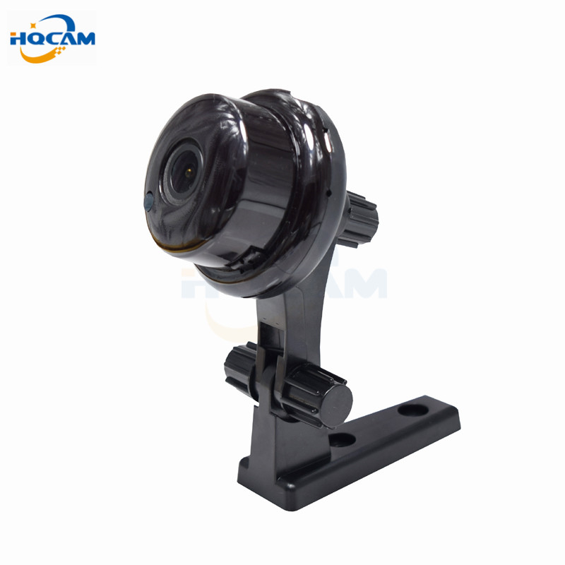 HQCAM 720P 1.0MP Button MINI Camera support WIFI,Two-way voice built-in TF Card Slot,Night Vision Home Security IP Camera stent<br>