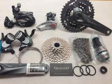 SHIMANO ALIVIO M4000 M4050 T4060 3x9S 27S speed MTB Bicycle groupset with hydraulic disc brake integrated FC-M4050 FC-T4060(China)