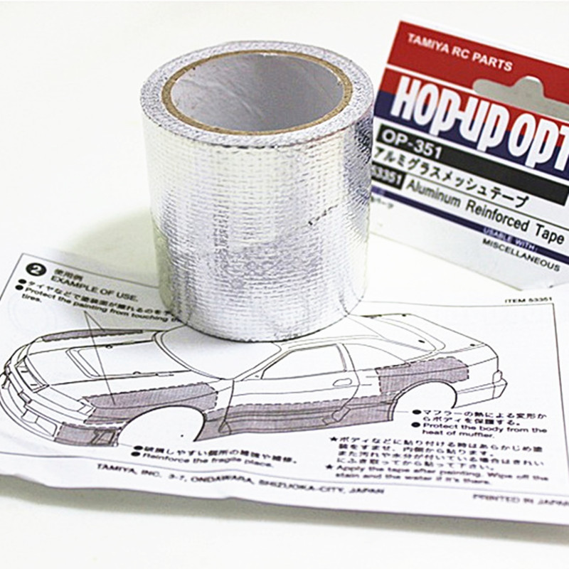 4M Aluminum Reinforced Tape to Protect 1//10 RC Touring Drift Car Body