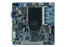 ITX CELERON 1037 U All in one pc motherboard 1.8 GHZ RAM Up to 8Gb with 2 lan 6 com(China)