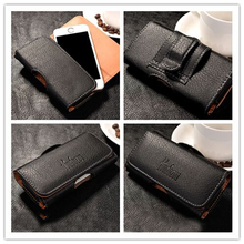 New Top grade Universal Holster Skin Waist hanging Belt Clip Leather Pouch Cover Case For Nokia Lumia 820 N820 Lumia820