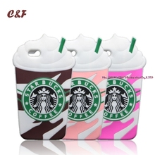 7 Starbuck Cases For iPhone 7 Case Frappuccino Coffee Cup Silicone Phone Cover