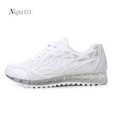 Buy Night Elf sneakers women running shoes high air sport shoes woman 2017 breathable summer white walking gym trainers new for $19.17 in AliExpress store