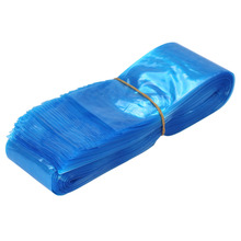 100Pcs/pack Blue Tattoo Clip Cord Sleeves Bags Supply Disposable Covers Bags for Tattoo Machine Professional Tattoo Accessory(China)