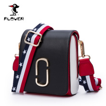 Plover Women Messenger Bags Famous Brands Leather Bag Women Crossbody Fake Designer Bags 2017 New Female Patchwork Handbags