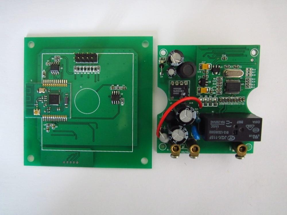 Zigbee CC2530 electric quantity metering intelligent socket<br>