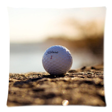 Golf Ball Decorative Cushion Cover Sofa Car Chair Home Decor Cotton Linen Throw Pillow Case Almofadas 45X45CM
