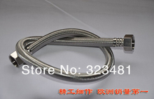 1pc 50cm Stainless Steel Braided Hose for Toilet/Faucet/Heater Plumbing Hose Bathroom Accessoriess(China)