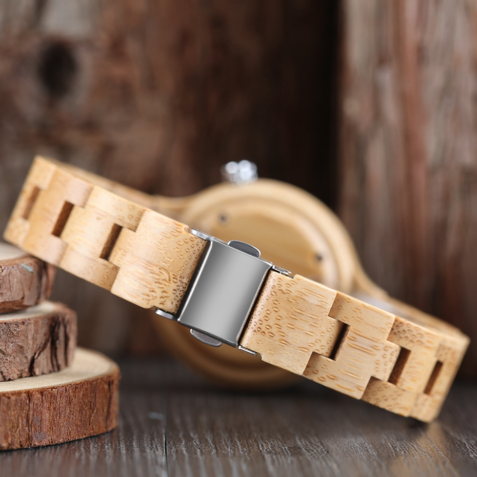 Creative Women's Fashion Wood Watches Women Handmade Bamboo Wristwatch Full Wooden Strap Novel Quartz Watch Relogio Feminino HOT 2017 Rich Women (23)
