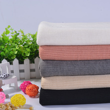 High quality thick rib wool anti-pilling acrylic tencel spandex garments fabric for Winter coat cardigan patchwork 50*150 A0360(China)