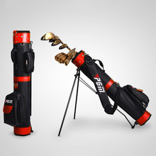 Best Selling Professional Golf Gun Bag Portable Big Capacity Golf Rack Bags 13 Clubs Contained Club Equipments Accessories