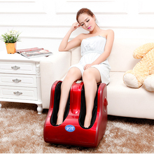 HFR-8811 Electric Airbag Shiatsu Rolling Luxury Foot Leg Massager Machine(China)