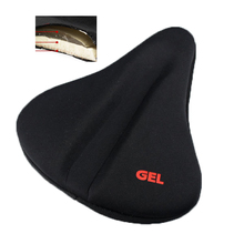 New Bike Soft Bicycle Silicone Silica Gel Cushion Comfortable Pad Saddle Seat Cover
